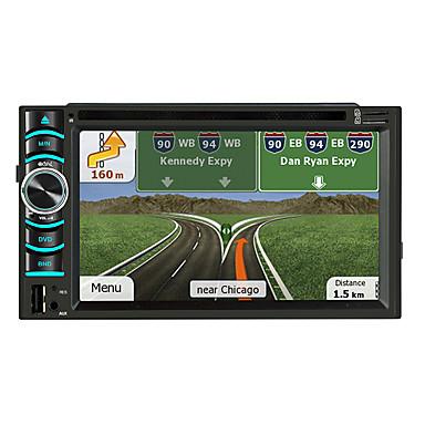 voordelige Automatisch Electronica-litbest 6116 6.2 inch 2 din android in-dash auto dvd-speler / auto gps navigator touchscreen / gps / ingebouwde bluetooth voor universele bluetooth ondersteuning mov / rm enzovoort