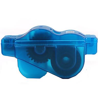 billige Sykkeltilbehør-Rensebørste til sykkelkjede Bærbar Holdbar Enkel vask Roterende rengjøringsutstyr 360 graders roterende børster Til Vei Sykkel Fjellsykkel Foldesykkel Fritidssykling Sykling Plastikker Mørkeblå