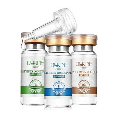 3 adet qyanfsoon saf nemlendirici hyaluronik asit, anti-kırışıklık anti-aging güzellik beyazlatma nemlendirici pigment cilt bakımı kaldırır
