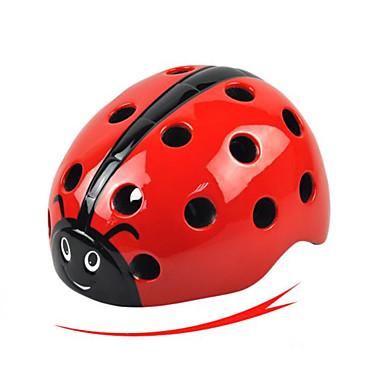 billige Hjelmer-Barne sykkelhjelm 16 Ventiler PP (Polypropen) sport Utendørs Trening Sykling / Sykkel - Rød Grønn Blå Gutt Jente