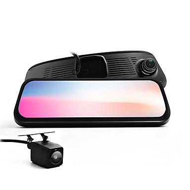 billige Bil-DVR-8,5-tommers bil dvr - dual-kamera fhd-visuelle g-sensor 128 gb sd-kortstøtte sd-kortopptak bred visningsvinkel for bmw