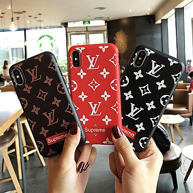 hesapli iPhone Kılıfları-Pouzdro Uyumluluk Apple iPhone XS / iPhone XR / iPhone XS Max Toz Geçirmez / Süslü Tam Kaplama Kılıf Kelime / Cümle Yumuşak TPU