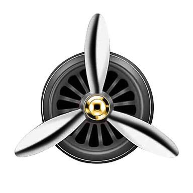voordelige Auto-interieur accessoires-luchtverfrisser auto geur led mini conditioning vent outlet parfum clip verse aromatherapie geur legering auto goede accessoires