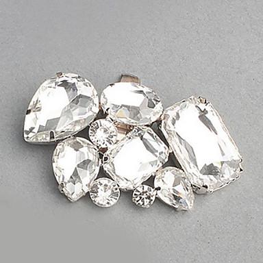 billige Skotilbehør-1 Deler Rhinestones Dekorative detaljer Dame Alle årstider Bryllup Sølv / Rhinsten