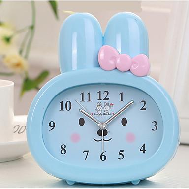saat masa saati modern çağdaş plastik yuvarlak