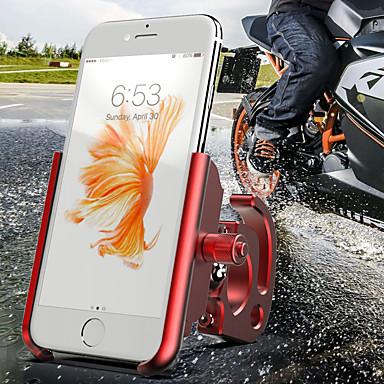 billige Sykkeltilbehør-Telefonstativ til sykkel Justerbare Anti-Skli Universell til Vei Sykkel Fjellsykkel Motorsykkel Aluminum Alloy CNC T6063 iPhone X iPhone XS iPhone XR Sykling Svart Gull Sølv