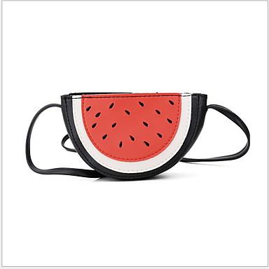 abordables Sacs-Fille Fermeture Sac enfants PU Fruit Rouge / Rose Claire / Beige