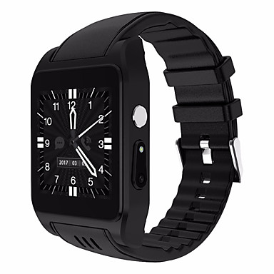 baratos Relógios Homem-Relógio inteligente Digital Estilo Moderno Esportivo Silicone 30 m Impermeável Monitor de Batimento Cardíaco Bluetooth Digital Casual Ao ar Livre - Preto Prata