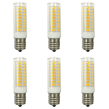 abordables Ampoules électriques-4pcs 10 W Ampoules Maïs LED 1000 lm E14 G9 E12 T 102 Perles LED SMD 2835 Design nouveau Blanc Chaud Blanc Froid 220-240 V 110-120 V