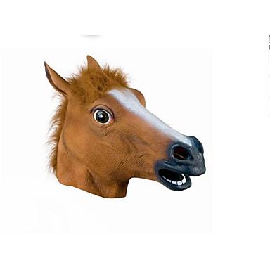 voordelige Maskers voor de feestdagen-Halloweenmaskers Dierenmasker Liima eenhoorn Horrorthema Volwassenen Unisex
