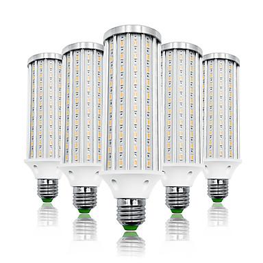 billige Elpærer-LOENDE 5pcs 40 W LED-kornpærer 4000 lm E26 / E27 T 140 LED perler SMD 5730 Varm hvit Hvit 85-265 V