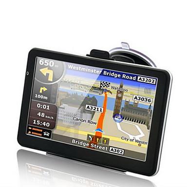 billige GPS-navigasjon for bil-7 tommer 256 MB 8 GB HD-vinduer ce 6.0 berøringsskjerm bil lastebil gps navigator