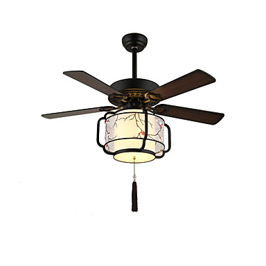 QINGMING® 3-Işık Geometrik / Mini Tavan pervanesi Ortam Işığı Boyalı kaplamalar Metal Kumaş Mini Tarzı 110-120V / 220-240V Sıcak Beyaz + Beyaz