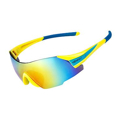 Недорогие Запчасти для мотоциклов и квадроциклов-красочные велосипедные самокаты солнцезащитные очки на открытом воздухе ультрафиолетовые прозрачные линзы оправы-линзы поляризованные линзы