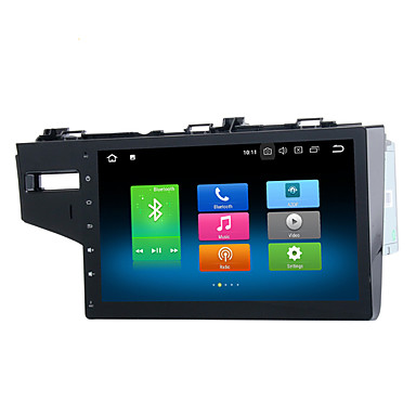 voordelige Automatisch Electronica-9 inch Android 8.0 4 GB 32 GB 1din Auto GPS Navigator Touchscreen Auto Multimedia DVD Speler voor Honda Fit 2013