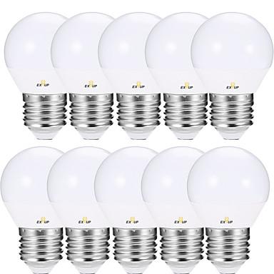 ieftine Becuri-EXUP® 12pcs 5 W Bulb LED Glob 460 lm E14 E26 / E27 G45 11 LED-uri de margele SMD 2835 Petrecere Decorativ Nuntă Alb Cald Alb Rece Roșu 220-240 V 110-120 V