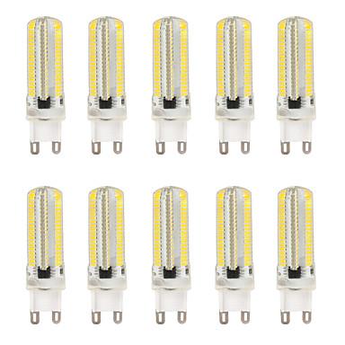 5pcs 6 W LED Bi-pin Işıklar 300 lm G4 T 152 LED Boncuklar SMD 3014 Kısılabilir Sıcak Beyaz Beyaz 200-240 V