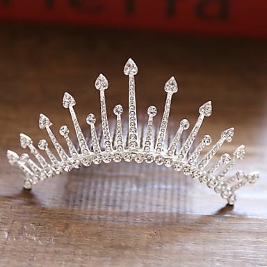 voordelige Dames Sieraden-Dames Dames leuke Style Bruids Legering kleine diamant Haarkammen Haarsieraden Haar charmes Bruiloft