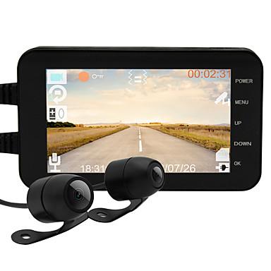 billige Bil-DVR-motorsykkel kjøretøy kjører opptaker mt003 1080p bil dvr 160 grader vidvinkel 4 tommers dash cam med wifi / bevegelsesdeteksjon / vanntett bilopptaker