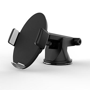voordelige Auto-organizers-slimme auto draadloze oplader qc3.0 mobiele telefoonhouder modellenbruin (draadloos opladen desktop)
