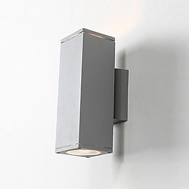 led kinkiet ścienny cylinder latarnia ścienna światła aluminiowe ogród stoczni lampki nocne lampy nowoczesne proste naścienne lampy podtynkowe