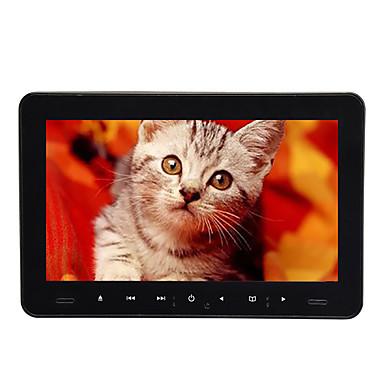 voordelige Automatisch Electronica-9 inch 1 DIN Android 8.0 LED-hoofdsteun dvd-speler games / SD / USB-ondersteuning / FM-zender voor universele HDMI-ondersteuning AVI / MPG / DAT MP3 / WMA / CD JPEG