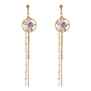 voordelige Dames Sieraden-Dames Druppel oorbellen Pakket oorbellen Sieraden Turkoois / Licht Roze / Wit Voor Dagelijks 1 paar
