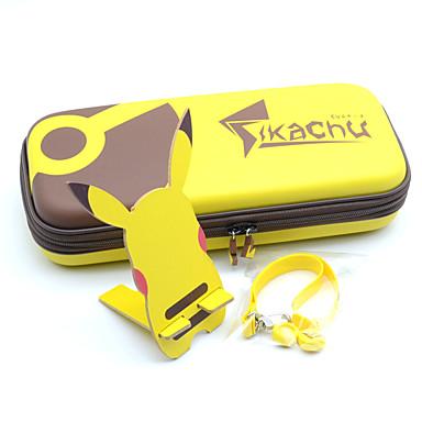 povoljno Nintendo Switch Accessories-Torbe / Igračke Za Nintendo Switch ,  New Design Torbe / Igračke PU koža / EVA pjena 5 pcs jedinica
