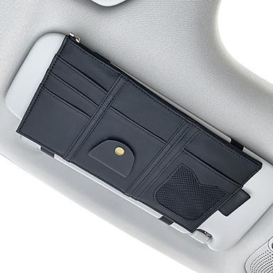voordelige Auto-interieur accessoires-Auto-organizers CD-hoesje / Kaarthouder / Glazen clips PU-nahka / Nylon Voor Universeel Alle jaren