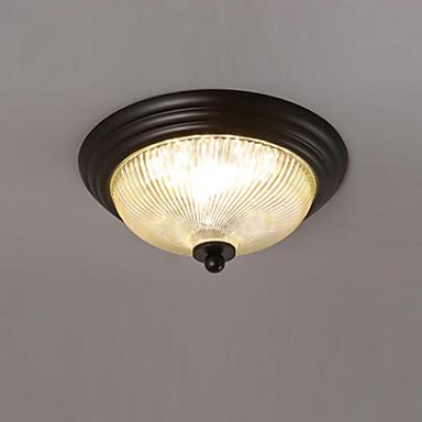 led gömme montaj ışıkları antika country tarzı kapalı ortam ışığı tavan ışık boyalı bitirir metal tavan lambaları