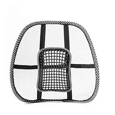 voordelige Auto-interieur accessoires-autostoel zomer koelkussen lumbaal ademend kussen ventilatie taille ondersteuning auto's bureaustoel verlichting rugpijn