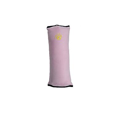 voordelige Auto-interieur accessoires-baby veiligheidsgordel autogordels zitkussens hoofdsteun& Taille kussen kits blozen roze / blauw / grijs katoen / wistiti gemeenschappelijk voor universeel alle jaren