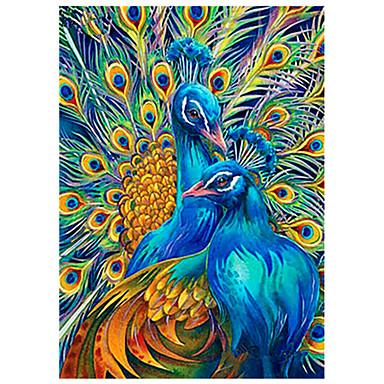 Kuş Duvar Dekoru Dokunmamış Hayvanlar / Avrupa Duvar Sanatı, Elmas boyama Dekorasyon