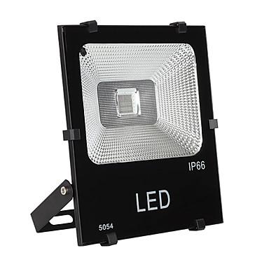 abordables Éclairage Extérieur-1pc 100 W Projecteurs LED / Lumières de pelouse Imperméable / Télécommandé / Dégradé de Couleur 220-240 V / 110-120 V Eclairage Extérieur / Cour / Jardin 100 Perles LED