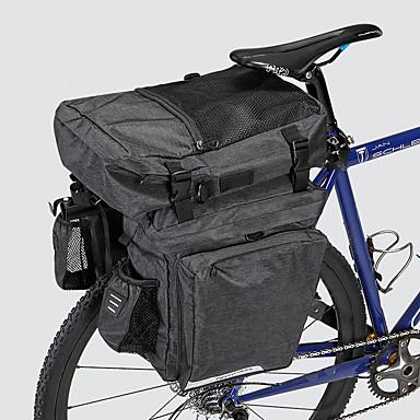 abordables Sacoches de Vélo-36 L Sac de Porte-Bagage / Double Sacoche de Vélo Etanche Portable Vestimentaire Sac de Vélo 600D Polyester Matériau imperméable Sac de Cyclisme Sacoche de Vélo Cyclisme Activités Extérieures Vélo