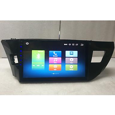 voordelige Automatisch Electronica-10.2 inch android 8.0 octa core 4 gb 32 gb auto mp5 speler auto gps navigator touchscreen voor toyota corolla 2014 2015 2016
