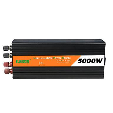 povoljno Alati i oprema-suredom inverter za napajanje automobila 12 V-AC 220 V / DC 24 V-AC 220 V / DC 12 V-AC 110 V 12/24 V pretvarač velike snage 5000 w za univerzalni uređaj