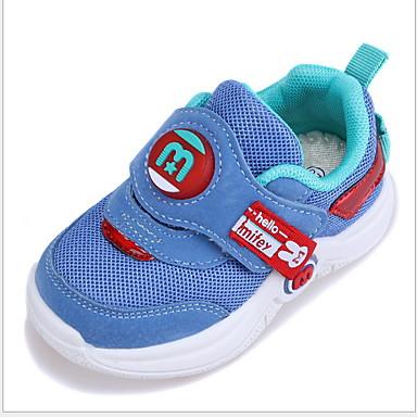baratos Sapatos de Criança-Para Meninas Com Transparência Tênis Little Kids (4-7 anos) Conforto Preto / Roxo / Azul Verão