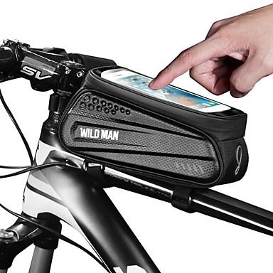 abordables Sacoches de Vélo-Sac de téléphone portable 6.2 pouce Cyclisme pour iPhone 8/7/6S/6 iPhone 8 Plus / 7 Plus / 6S Plus / 6 Plus iPhone X Noir Cyclisme / Vélo