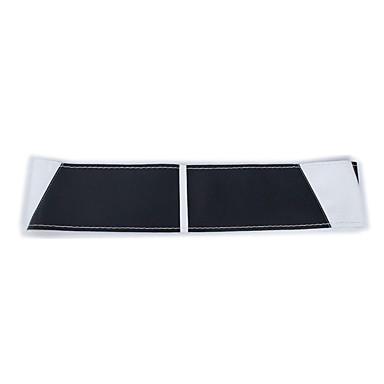 voordelige Auto-interieur accessoires-hand naaien auto stuurhoes antislip lederen stuurwiel wrap