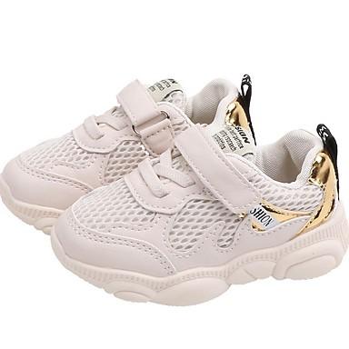 baratos Sapatos de Criança-Para Meninos Com Transparência Tênis Little Kids (4-7 anos) Conforto Corrida Preto / Roxo / Bege Verão