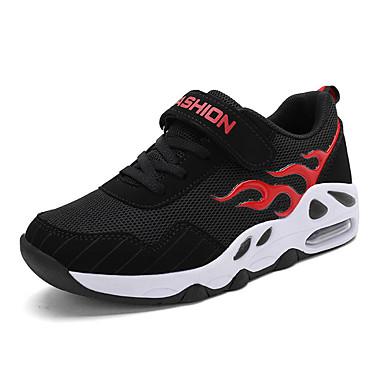 baratos Sapatos de Criança-Para Meninos Flyknit Tênis Big Kids (7 anos +) Conforto Caminhada Branco / Vermelho / Azul Primavera