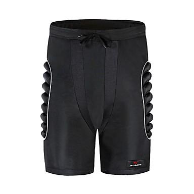 billige Scootere, skateboard og rulleskøyter-wosawe steg 3d beskyttede rumpe eva polstret shorts beskyttelsesutstyr støtpute ski skateboard svart