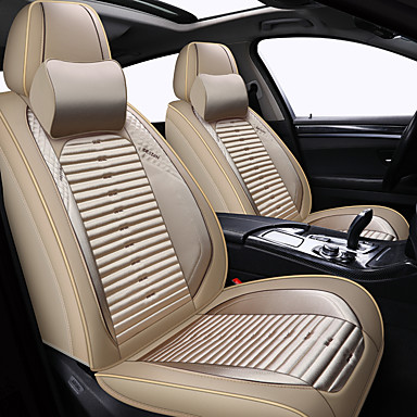 voordelige Auto-interieur accessoires-moderne auto zitkussen zomer cartoon autostoel cover vier seizoenen universele zitkussen