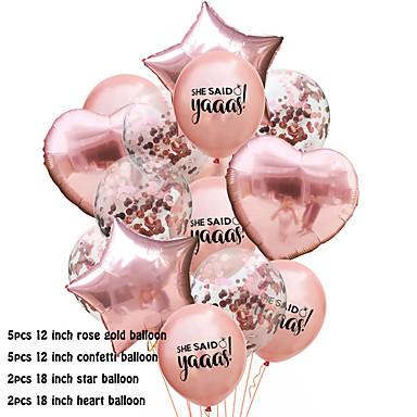 billige Bryllupsmottagelse-Ballongpakke Emulsion 1set Bryllup