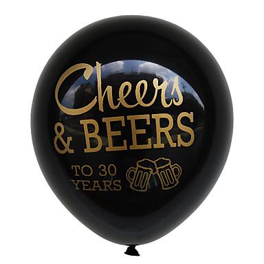 voordelige Feestbenodigdheden-ballonemulsie 100 verjaardag