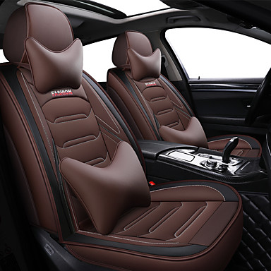 voordelige Auto-interieur accessoires-het nieuwe opgewaardeerde autostoelkussen vier seizoenen universele all-inclusive lederen autostoelbekleding set fabriek directe verkoop van een vervanger