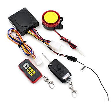 voordelige Automatisch Electronica-motorfiets draadloos intelligent secuity alarmsysteem met klapsleutel afstandsbediening botsing alarm