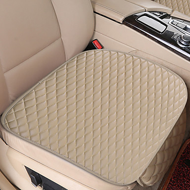 voordelige Auto-interieur accessoires-universele autostoelhoes pu lederen kussens organizer auto voor achterbank hoezen beschermer mat
