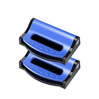 voordelige Auto-interieur accessoires-2 stks universele autogordels clips veiligheid verstelbare auto stopper gesp plastic clip